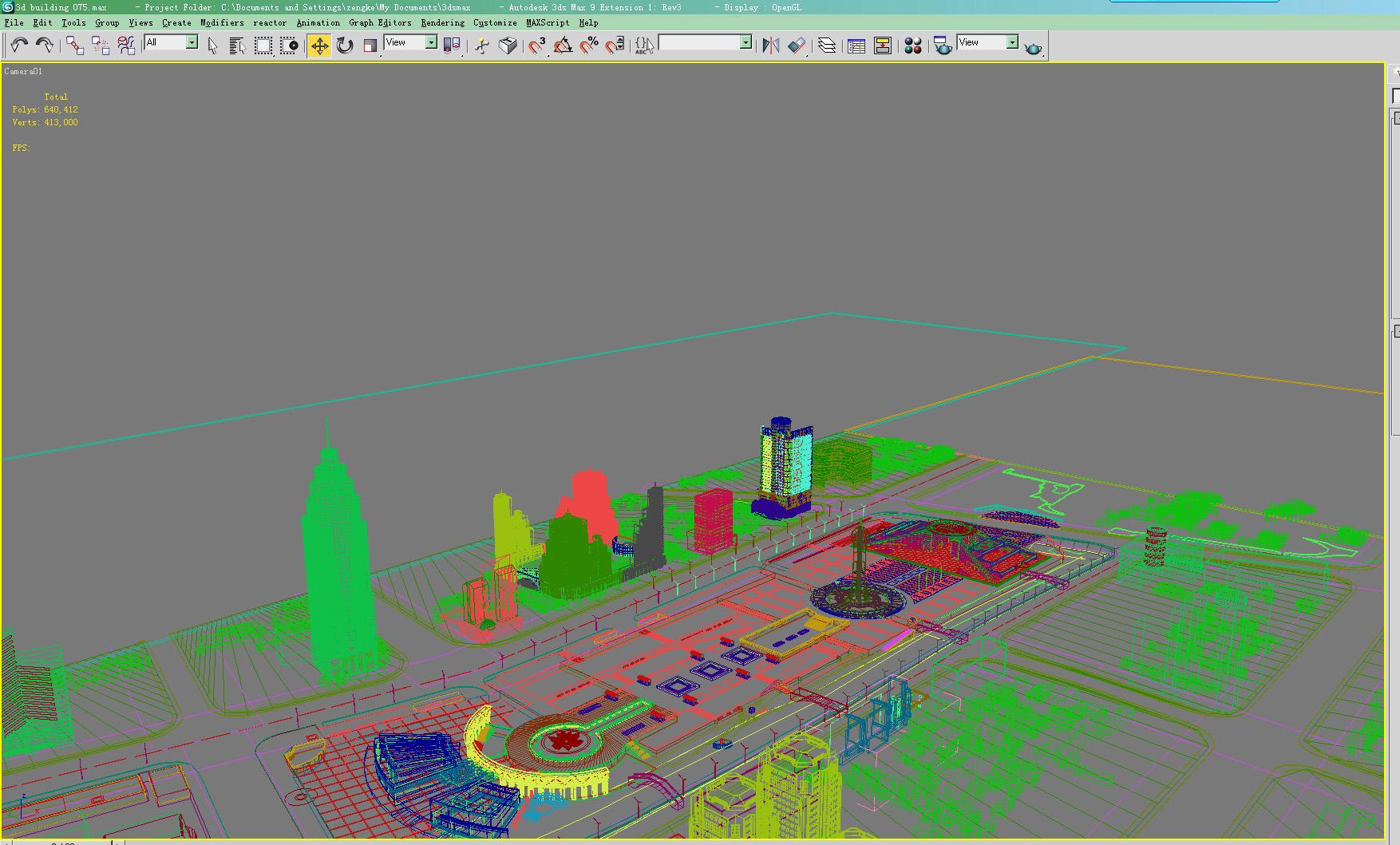 building 075 3d model max 133609