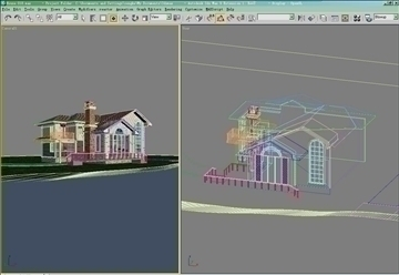house 018 3d model 3ds max psd 91384