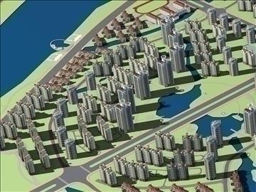 urban design 022 3d model 3ds max 91131
