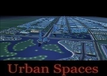 urbani prostori 055 3d model 3ds max 91679