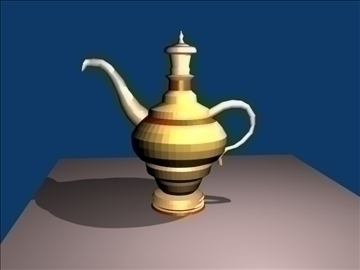 antique jug 3d model blend 91387