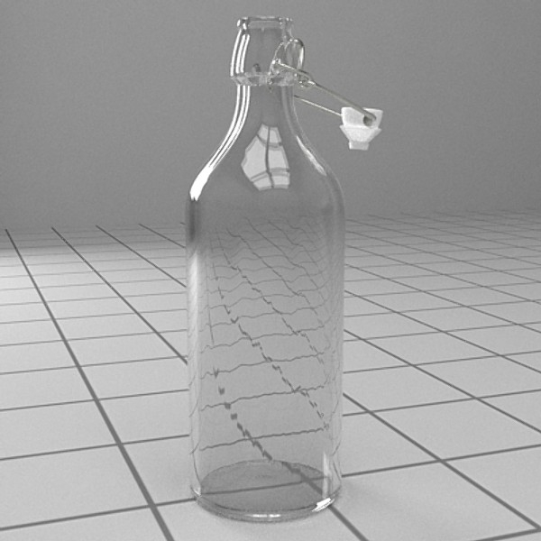 bottle with stopper 3d model 3ds fbx skp obj 115191