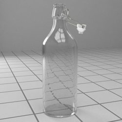 Bottle with stopper ( 100.8KB jpg by Pixelblock )