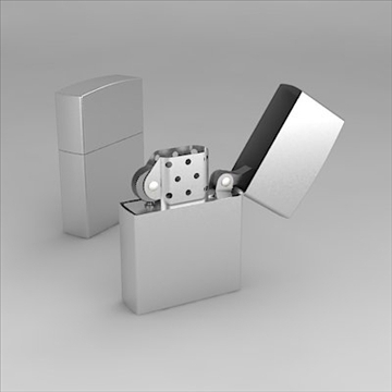lighter 3d model 3ds 3dm obj other 100171