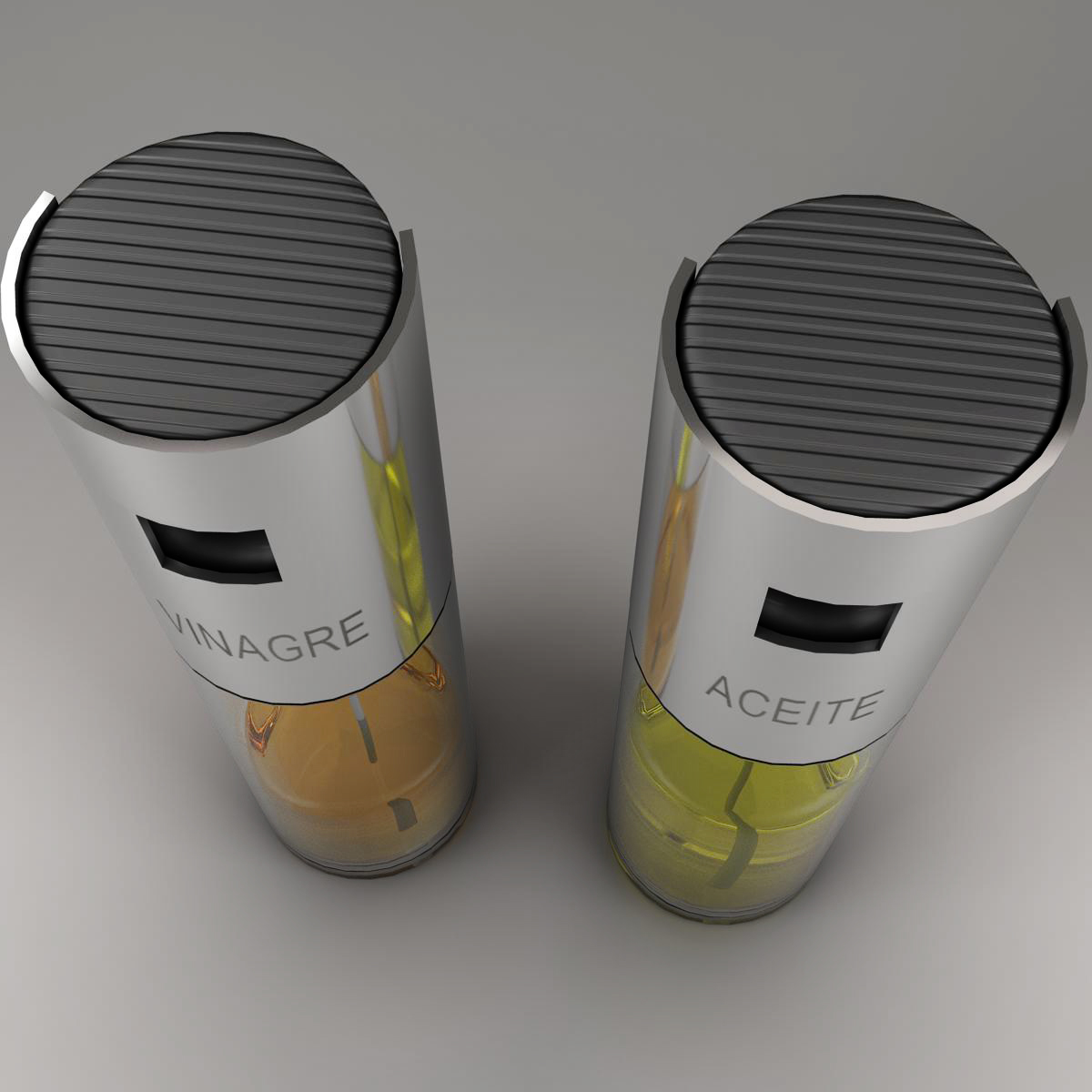 oil and vinegar 3d model 3ds max fbx c4d ma mb obj 159378