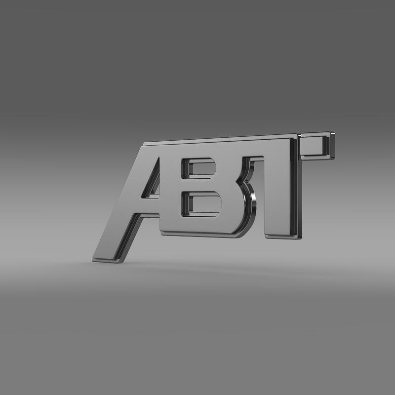 abtロゴ3dモデル3ds最大fbx c4d 2つのmb hrc xsi obj 152565
