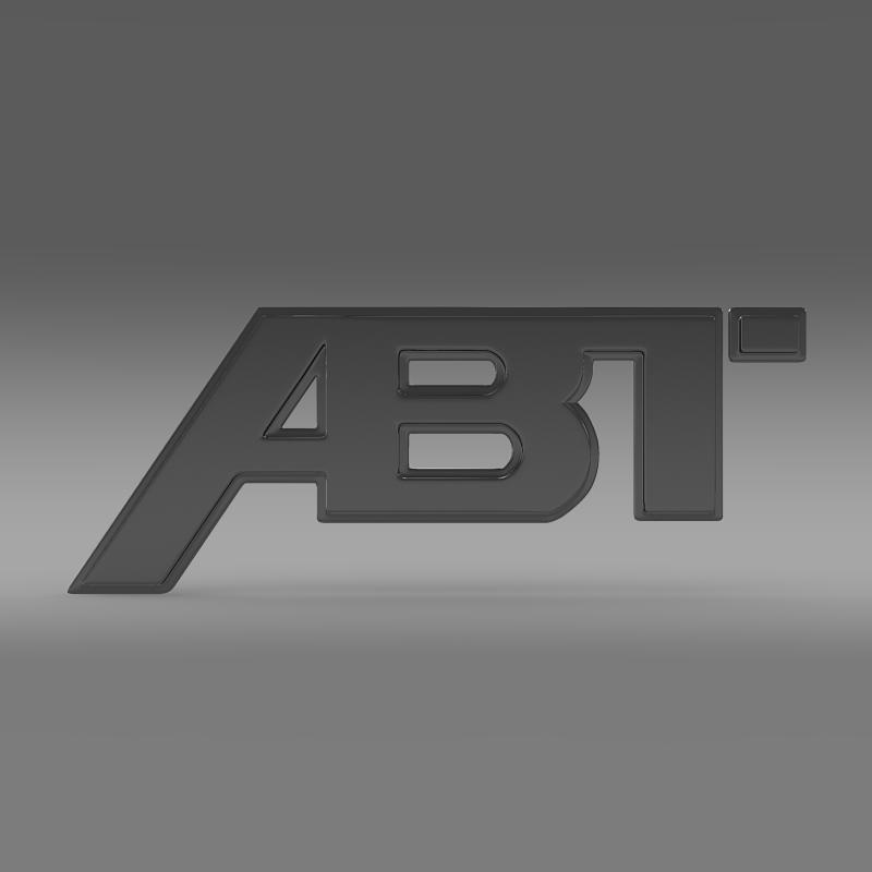 abt logo 3d model 3ds max fbx c4d lwo ma mb hrc xsi obj 152567