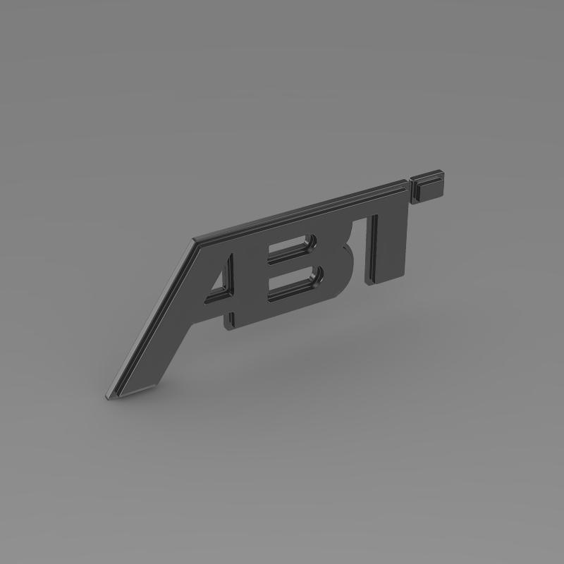 abt logo 3d model 3ds max fbx c4d lwo ma mb hrc xsi obj 152568