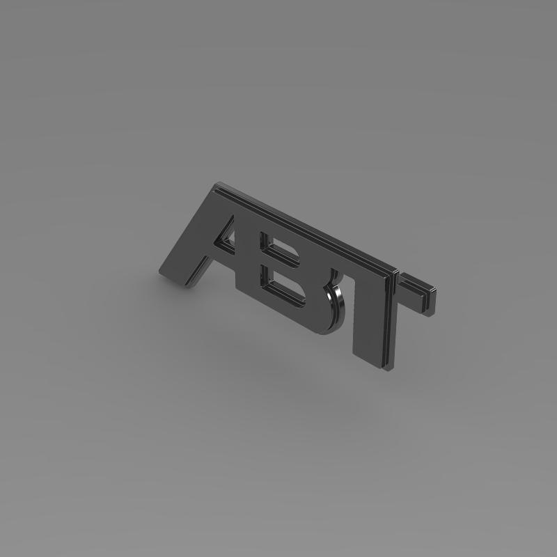 abt logo 3d model 3ds max fbx c4d lwo ma mb hrc xsi obj 152569