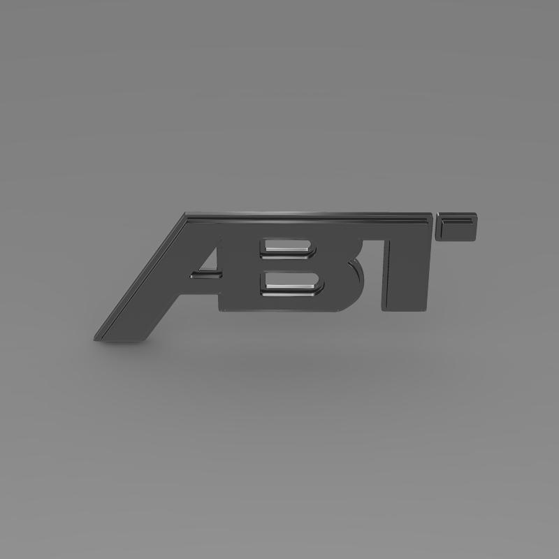 abt logo 3d model 3ds max fbx c4d lwo ma mb hrc xsi obj 152570