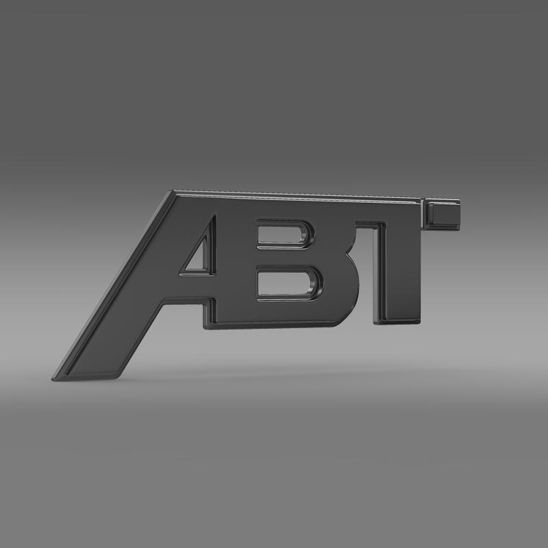 ABT Logo 3D Model – Buy ABT Logo 3D Model  FlatPyramid