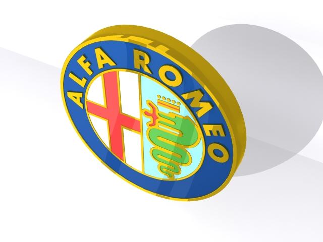 alfa romeo merki 3d v2 3d líkan 3ds max fbx obj 153999