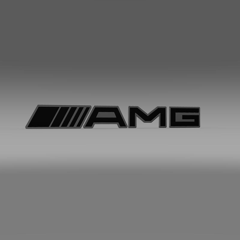 AMG Logo 3d model 3ds max fbx c4d lwo lws lw ma mb  obj 152574