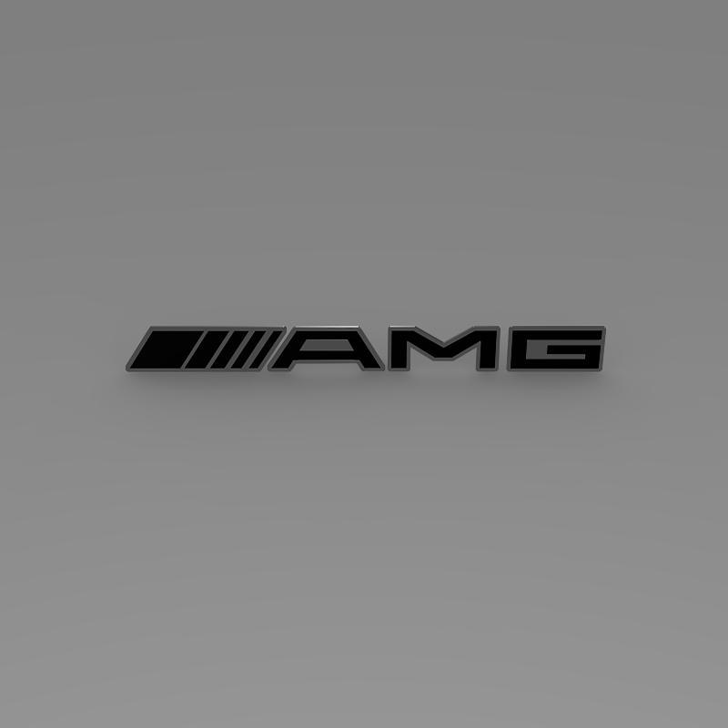 AMG Logo 3d model 3ds max fbx c4d lwo lws lw ma mb  obj 152576