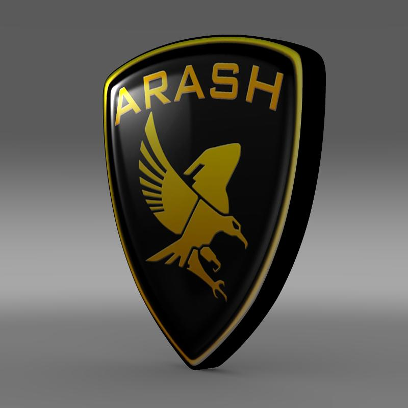 arash logotip 3d model 3ds max fbx c4d