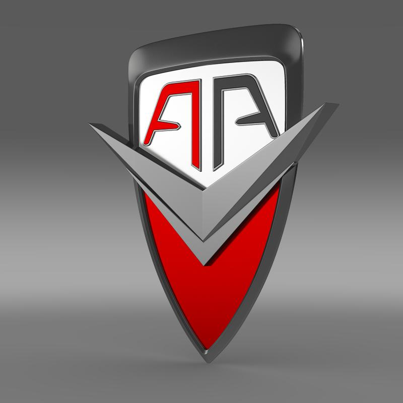 arrinera logotip 3d model 3ds max fbx c4d
