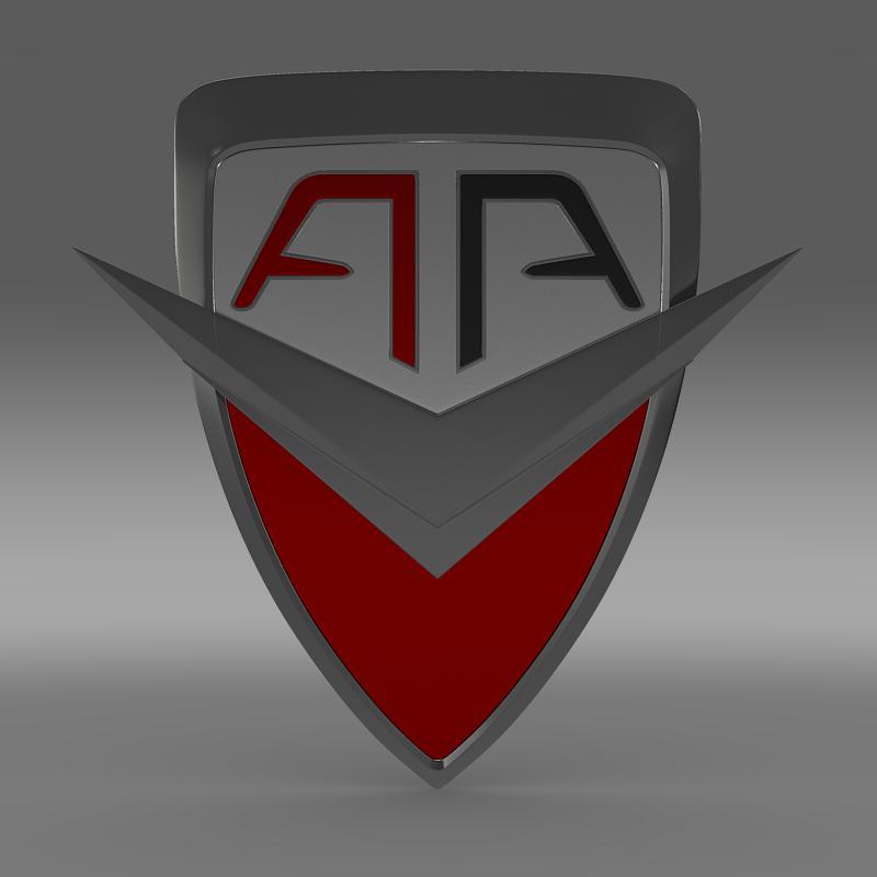 arrinera logo 3d model 3ds max fbx c4d lwo ma mb hrc xsi obj 152219
