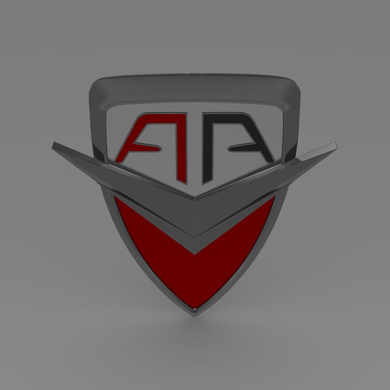 arrinera logo 3d model 3ds max fbx c4d lwo ma mb hrc xsi obj 152222