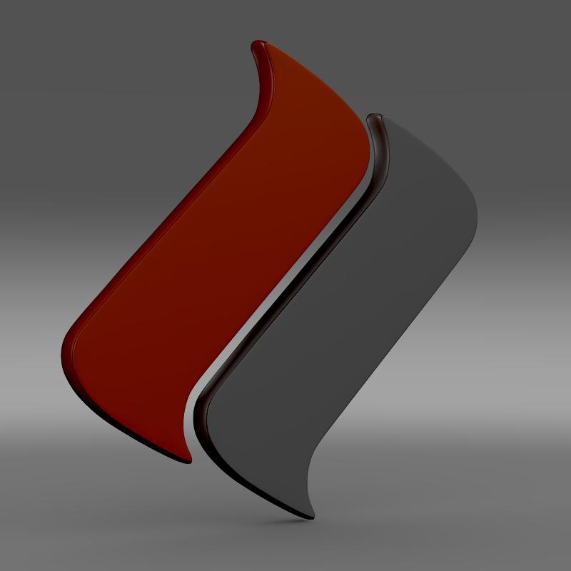 ascari logo 3d model 3ds max fbx c4d lwo ma mb hrc xsi obj 116972
