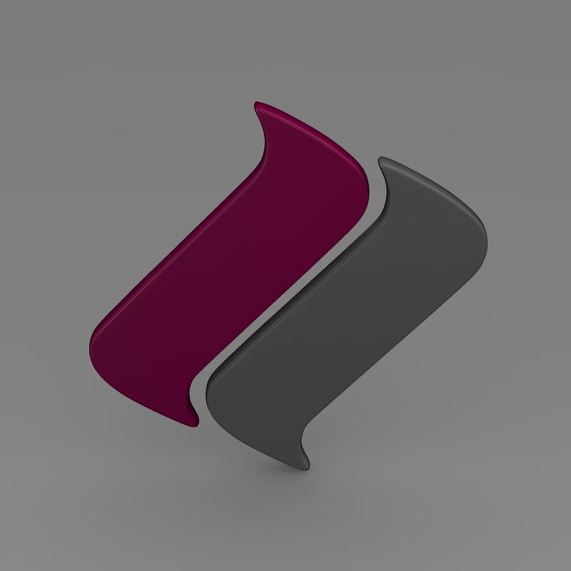 ascari logo 3d model 3ds max fbx c4d lwo ma mb hrc xsi obj 116974