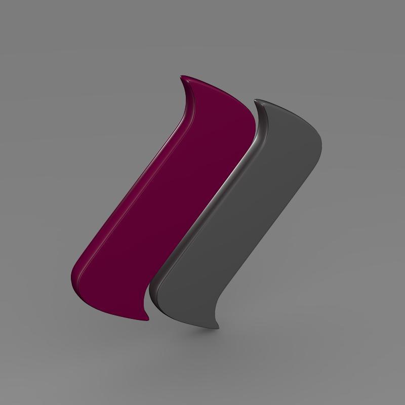 ascari logo 3d model 3ds max fbx c4d lwo ma mb hrc xsi obj 116975
