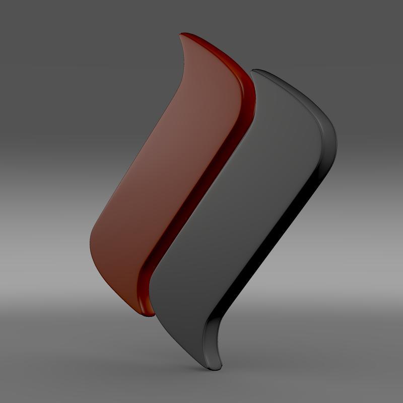 Ascari Logo 3d model 3ds max fbx c4d lwo lws lw ma mb  obj 116970