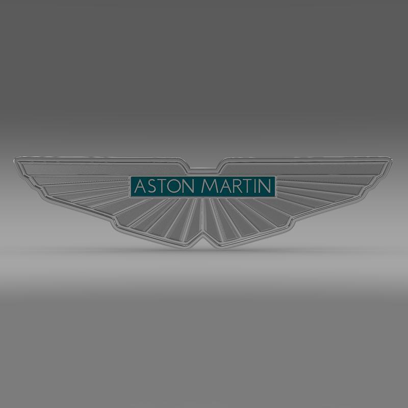 aston martin lógó 3d líkan 3ds max fbx c4d lwo ma mb hrc xsi obj 119012