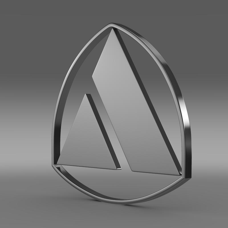 autobianchi logotip 3d model 3ds max fbx c4d
