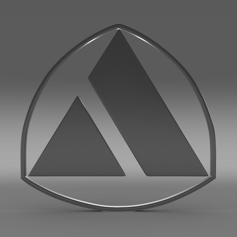 autobianchi logo 3d model 3ds max fbx c4d lwo ma mb hrc xsi obj 152233