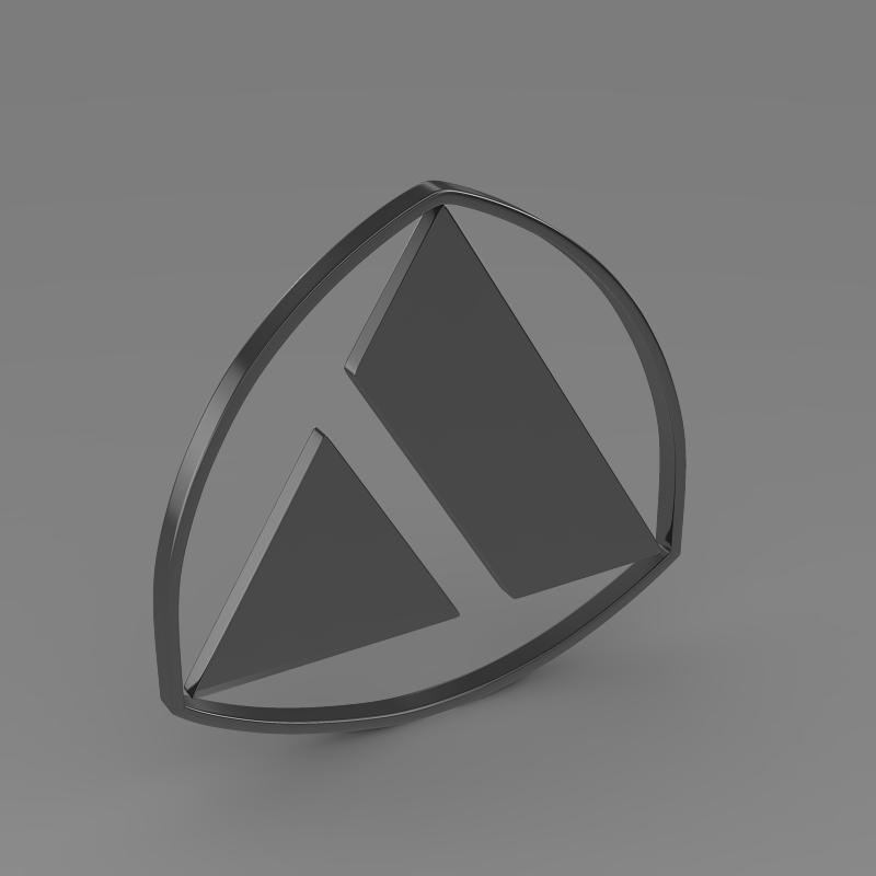 autobianchi logo 3d model 3ds max fbx c4d lwo ma mb hrc xsi obj 152235