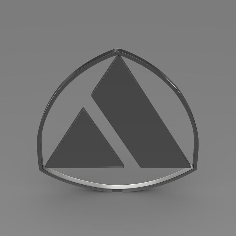 autobianchi logo 3d model 3ds max fbx c4d lwo ma mb hrc xsi obj 152236