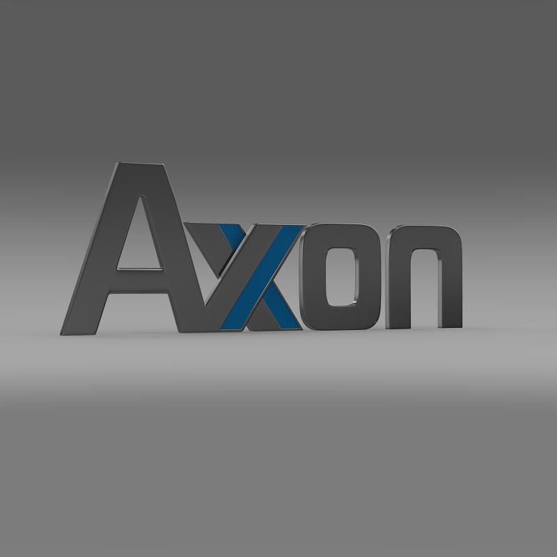 axon logo 3d model 3ds max fbx c4d lwo ma mb hrc xsi obj 152580