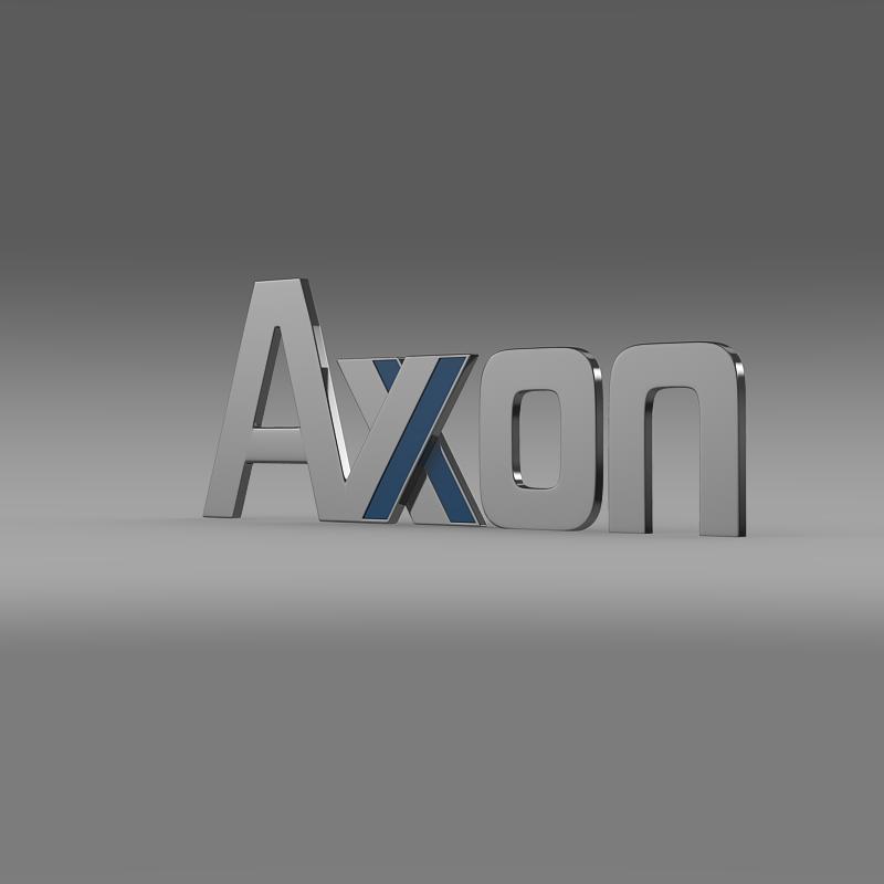 axon logo 3d model 3ds max fbx c4d lwo ma mb hrc xsi obj 152581