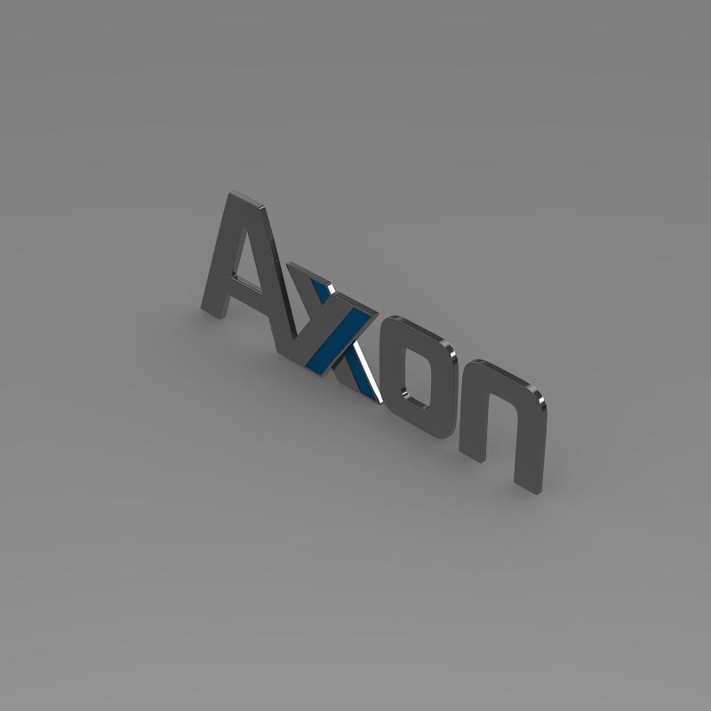 axon logo 3d model 3ds max fbx c4d lwo ma mb hrc xsi obj 152583
