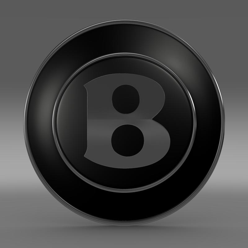 bentley wheel logo 3d model 3ds max fbx c4d lwo ma mb hrc xsi obj 151274