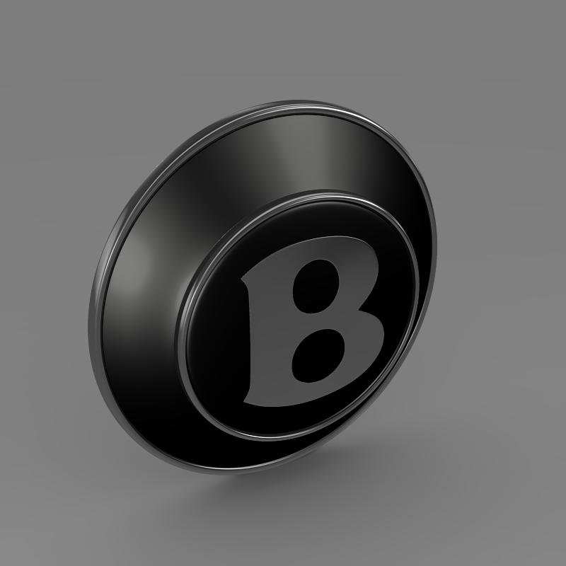 bentley wheel logo 3d model 3ds max fbx c4d lwo ma mb hrc xsi obj 151278
