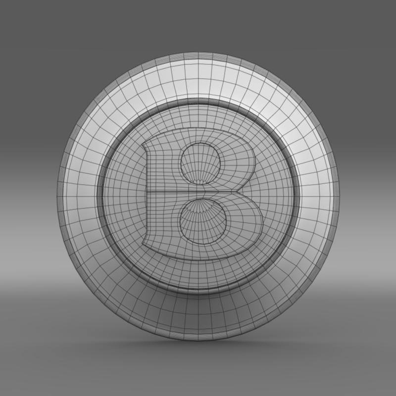 bentley wheel logo 3d model 3ds max fbx c4d lwo ma mb hrc xsi obj 151279