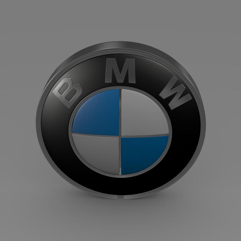 bmw logo 3d model 3ds max fbx c4d lwo ma mb hrc xsi obj 117474