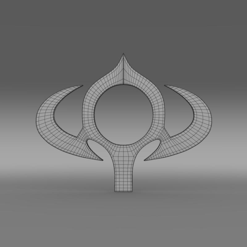 bogdan logo 3d model 3ds max fbx c4d lwo ma mb hrc xsi obj 151286