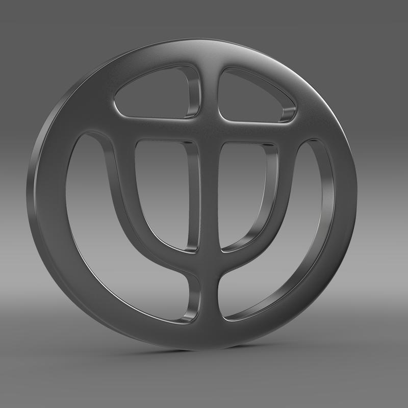 brrilliance logo 3d model 3ds max fbx c4d lwo ma mb hrc xsi obj 119047