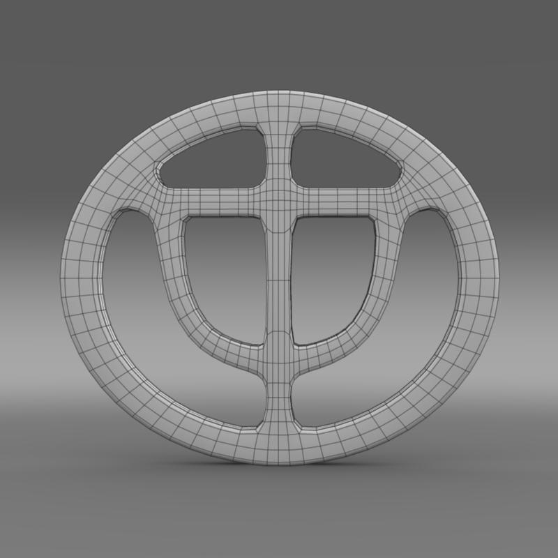 brrilliance logo 3d model 3ds max fbx c4d lwo ma mb hrc xsi obj 119051