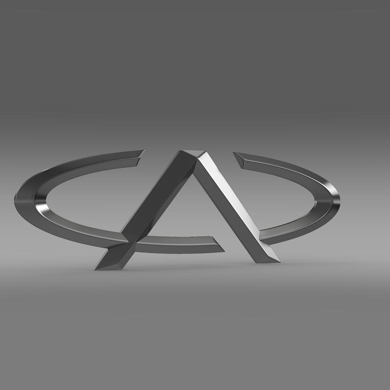 chery logo Múnla 3d 3ds max fbx c4d le hrc xsi obj 117012