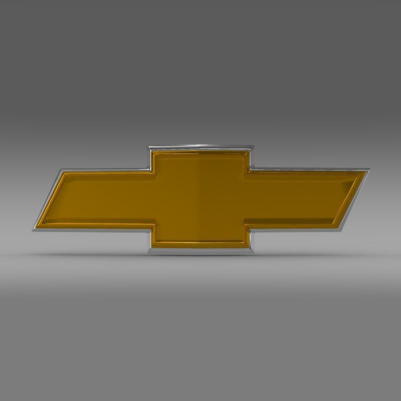 chevrolet new logo 3d model 3ds max fbx c4d lwo ma mb hrc xsi obj 152246