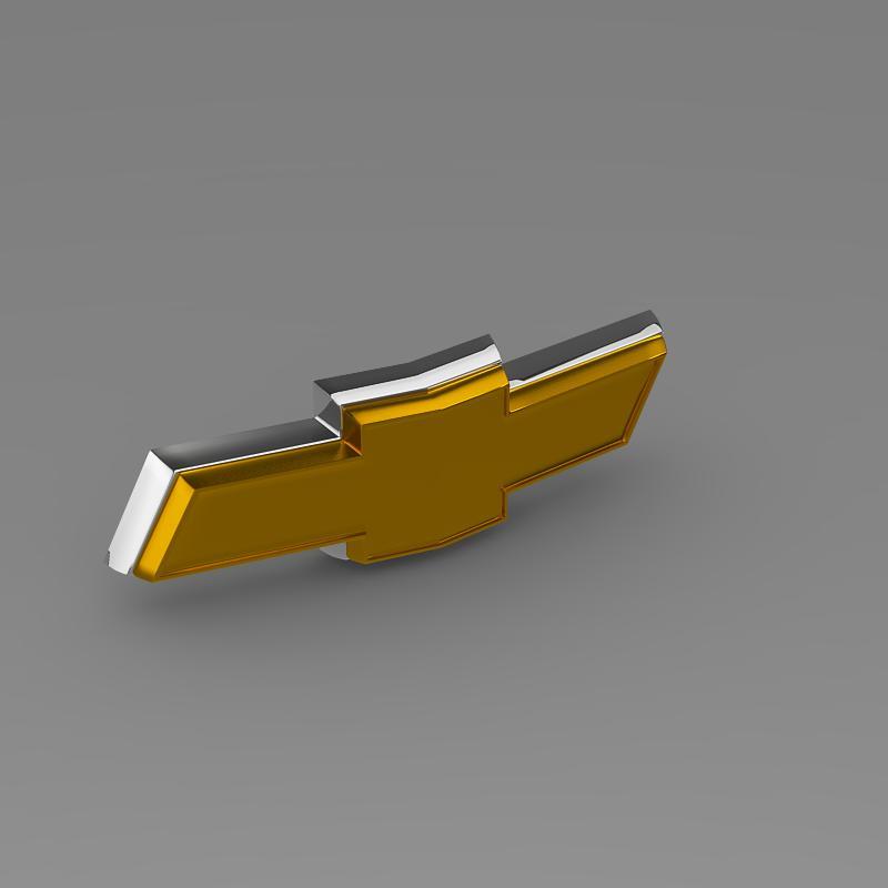 chevrolet new logo 3d model 3ds max fbx c4d lwo ma mb hrc xsi obj 152250