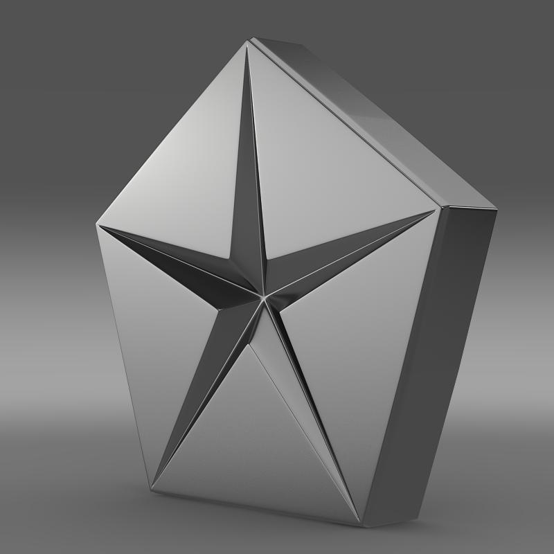 xrysler şirkəti logo 3d modeli 3ds max fbx c4d lwo ma mb hrc xsi obj 117047