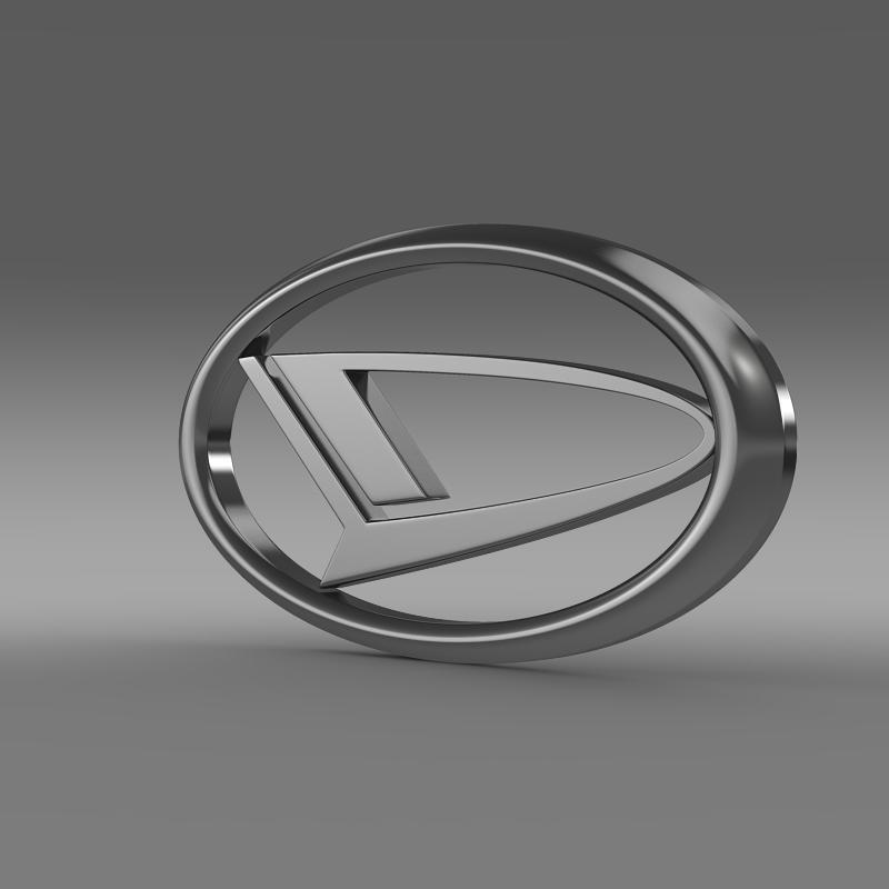 daihatsu logo 3d model 3ds max fbx c4d lwo ma mb hrc xsi obj 117192