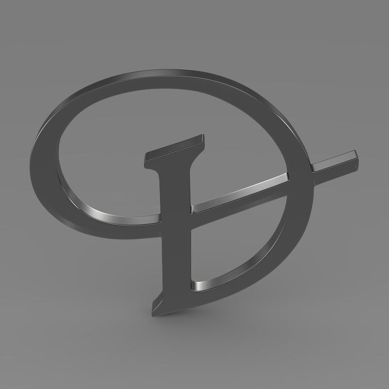 daimler 3d logo 3d model 3ds max fbx c4d lwo ma mb hrc xsi obj 119101