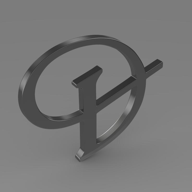 daimler 3d logo 3d model 3ds max fbx c4d lwo ma mb hrc xsi obj 119102