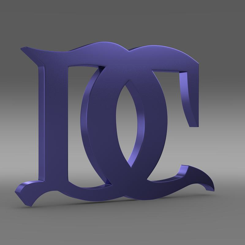 darracq logo 3d model 3ds max fbx c4d lwo ma mb hrc xsi obj 152822
