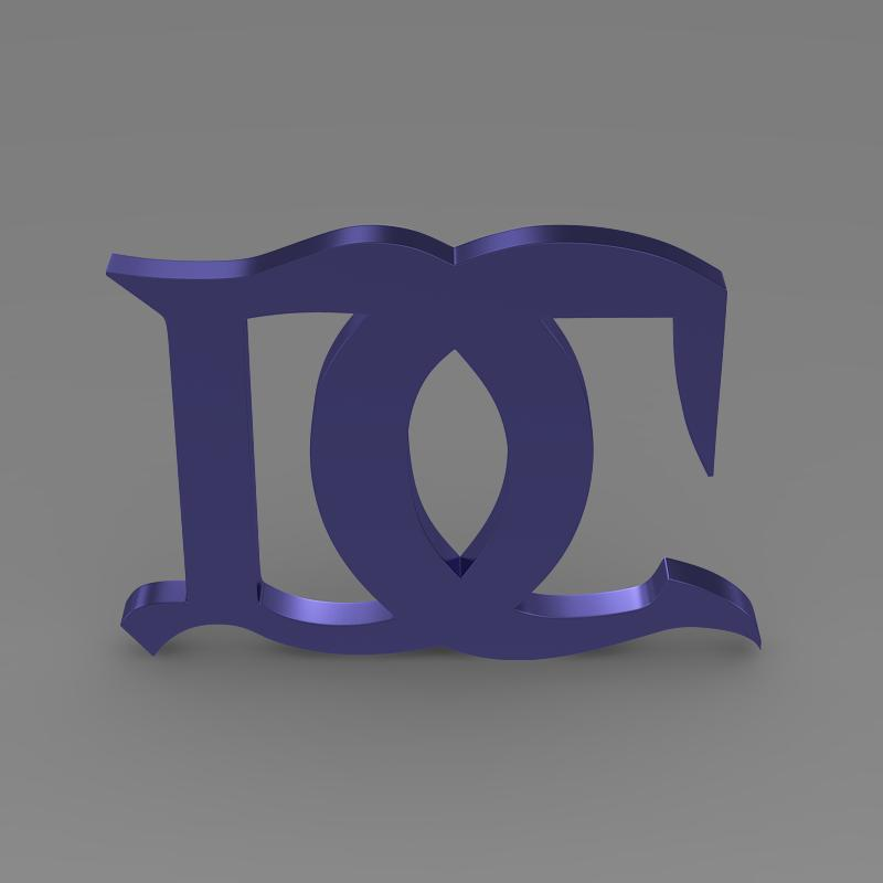 darracq logo 3d model 3ds max fbx c4d lwo ma mb hrc xsi obj 152824